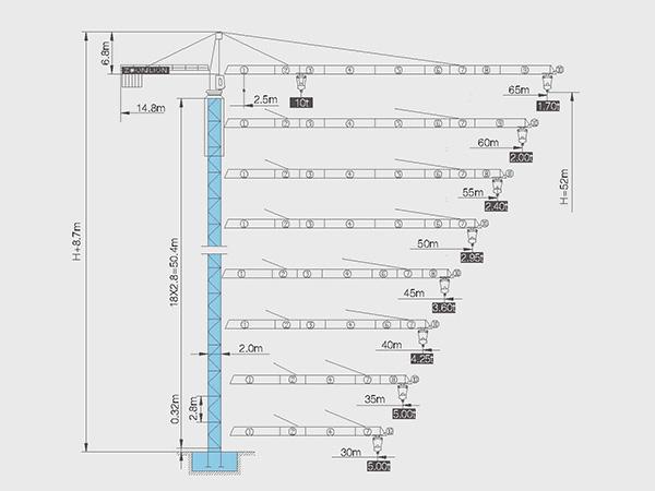 塔吊电阻箱接线原理图